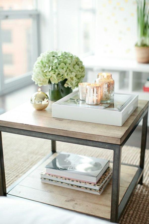 Стильный журнальный столик с лотком