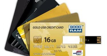 Флеш-карта в виде кредитной карты