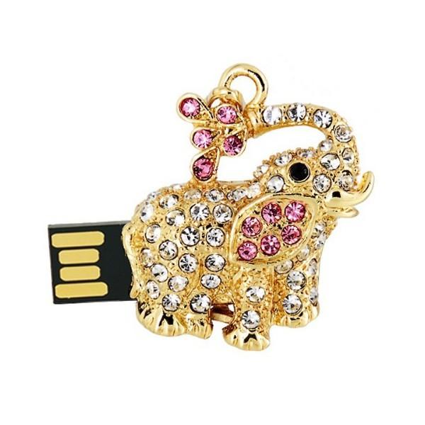 USB флешка в форме слона