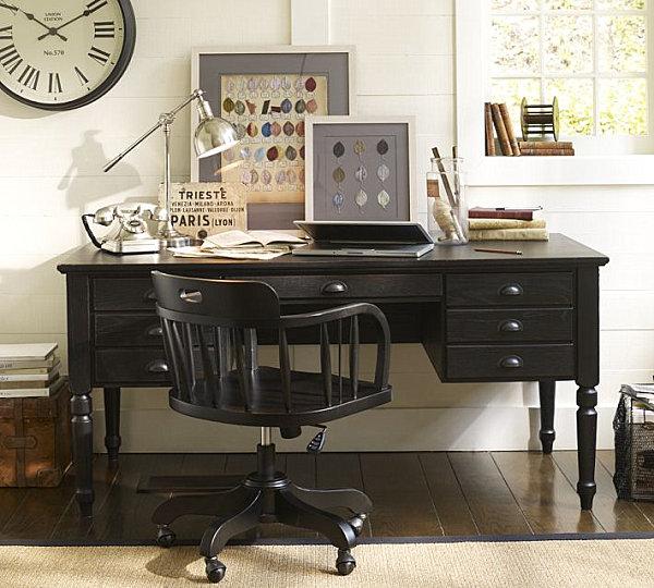 20 стильных офисных столов для домашнего компьютера