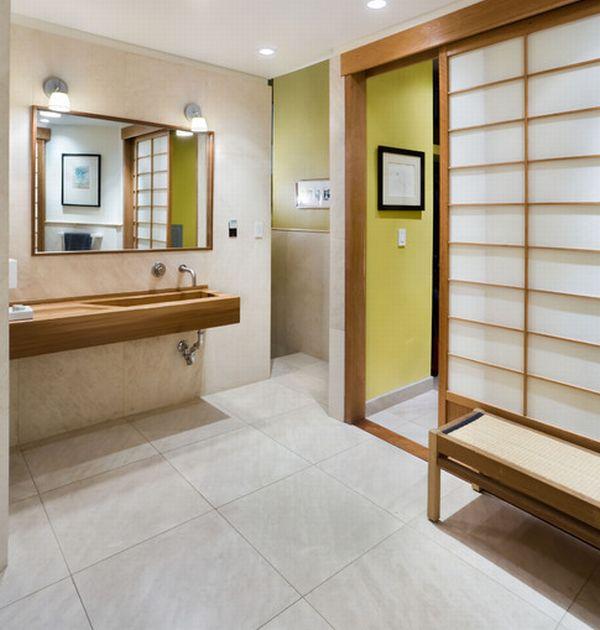Сногшибательная ванная комната в японском стиле