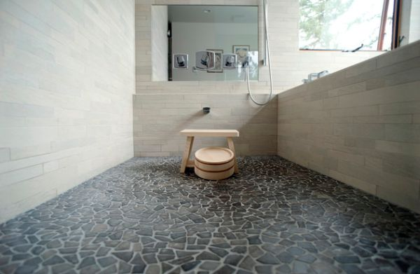 Головокружительная ванная комната в японском стиле