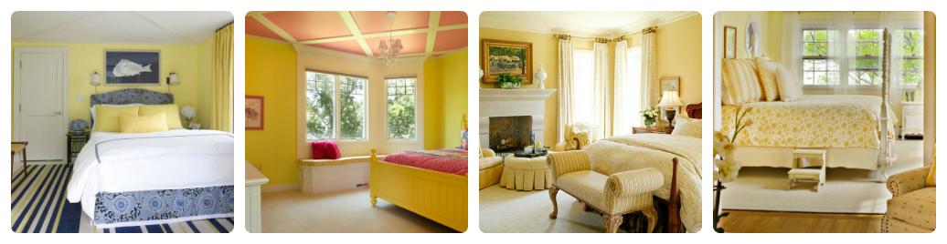 Идеи использования желтого цвета в интерьере