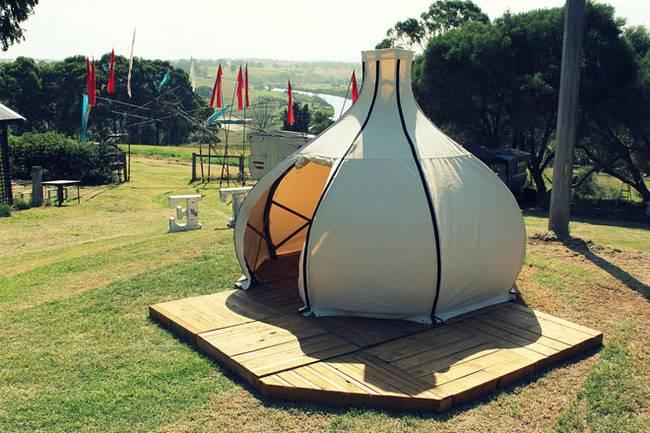 Свет в палатке в форме луковой головки - Фото 1