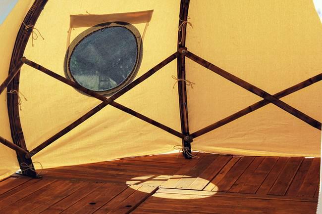 Свет в палатке в форме луковой головки - Фото 3