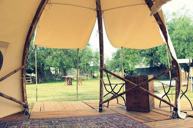 Свет в палатке в форме луковой головки - Фото 4