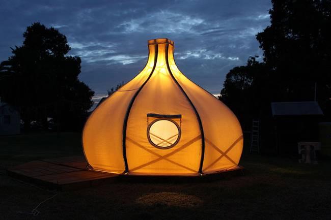 Свет в палатке в форме луковой головки - Фото 7