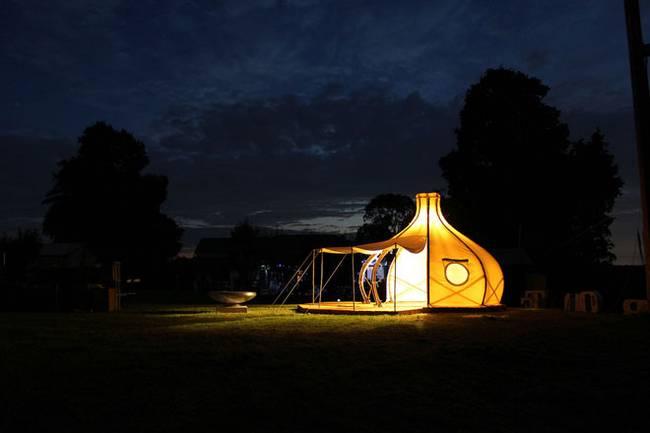 Свет в палатке в форме луковой головки - Фото 8