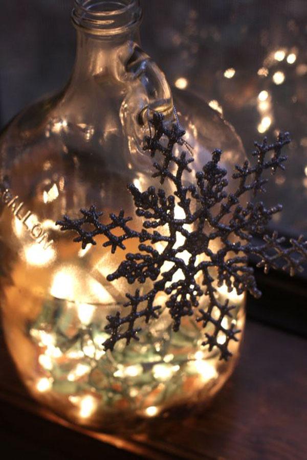 Светильник для дома к новому году - Фото 1