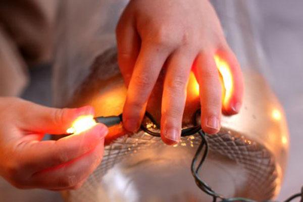 Светильник для дома к новому году - Фото 5