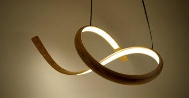 Скульптурное освещение: эффектные светильники из дерева