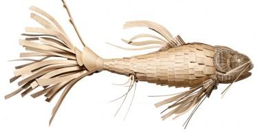 Осветительный прибор в форме рыбы