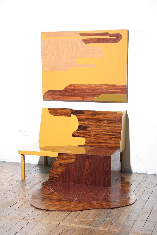 Татьяна Бласс: смешанные скульптурные инсталляции из серии «Хвосты»