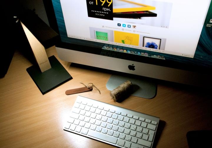 Лампа подключается к компьютеру