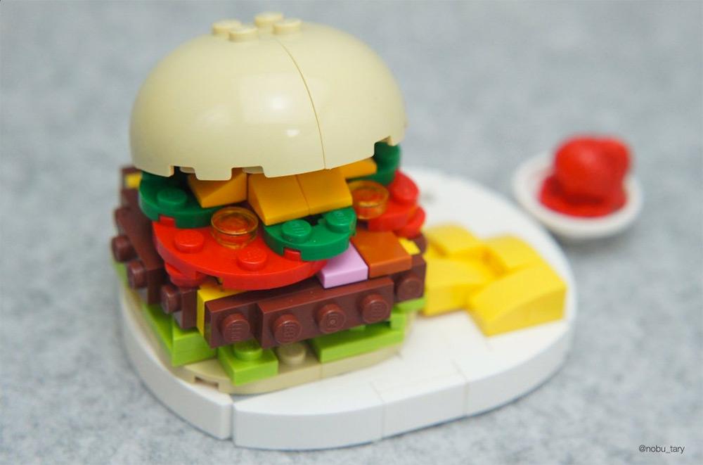 Лего еда своими руками