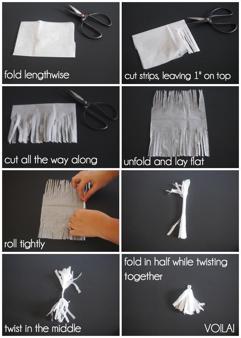 Инструкция по созданию кисточки из бумаги