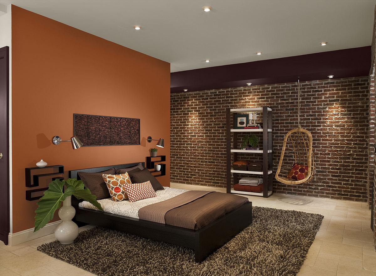Цвет стен в спальне дизайн