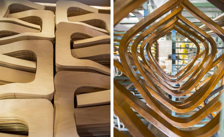 Техника работы с древесиной Алвара Аалто