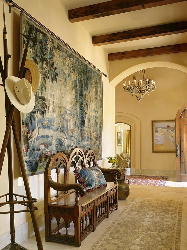 Текстиль в интерьере - фото гобелена с тропическим сюжетом