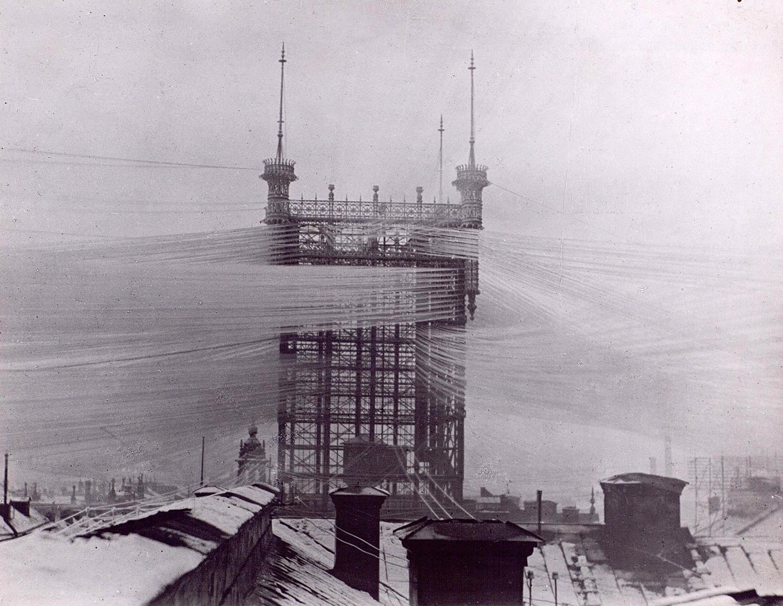 Из истории технологий: телефонный узел Telefontornet в Стокгольме