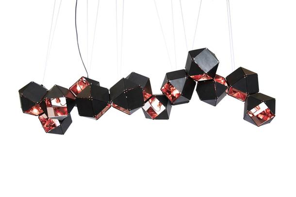 Кристалловидные железные предметы от Gabriel Scott