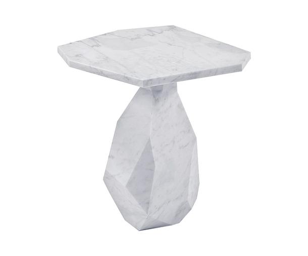 Прикроватный столик из мрамора