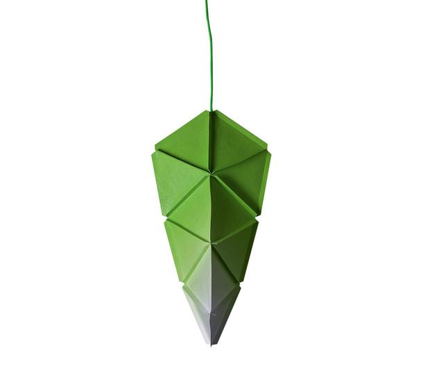 Светильник листовидной формы