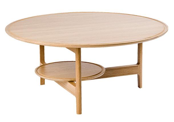 Круглый деревянный стол Svetlo