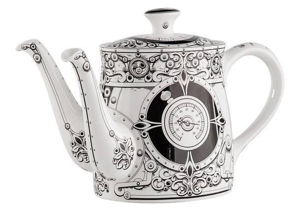 Коллекцинный чайник с двумя носиками