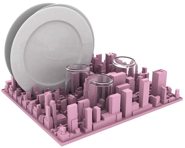 Силиконовая посудная сушилка