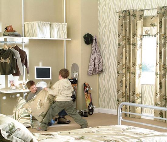 Шторы в детскую комнату фото для мальчиков своими руками