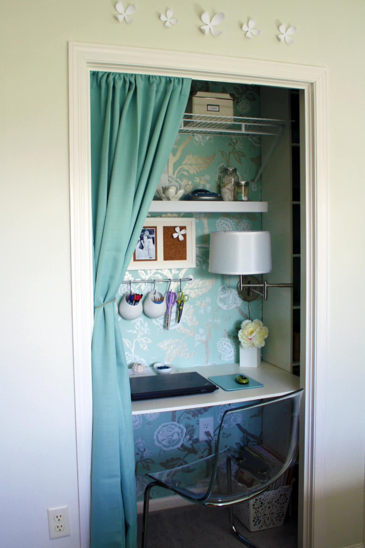 фото примеры использования шкафов без дверей