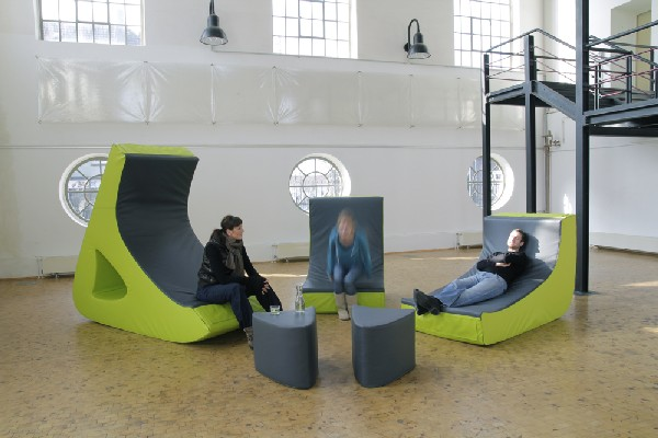 Креативная модульная мебель