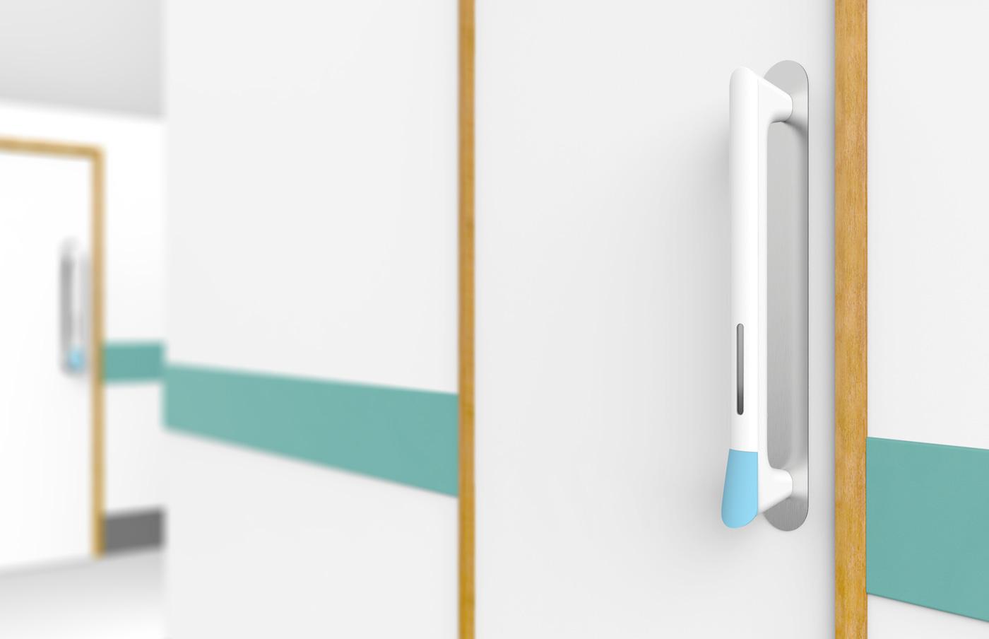 Ручка безопасная для здоровья в белом цвете