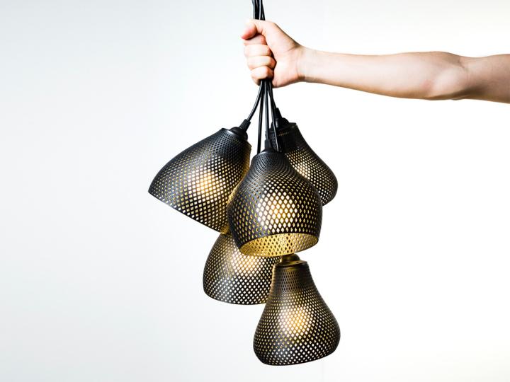 Lámparas de suspensión elegantes de Studio MeraldiRubini
