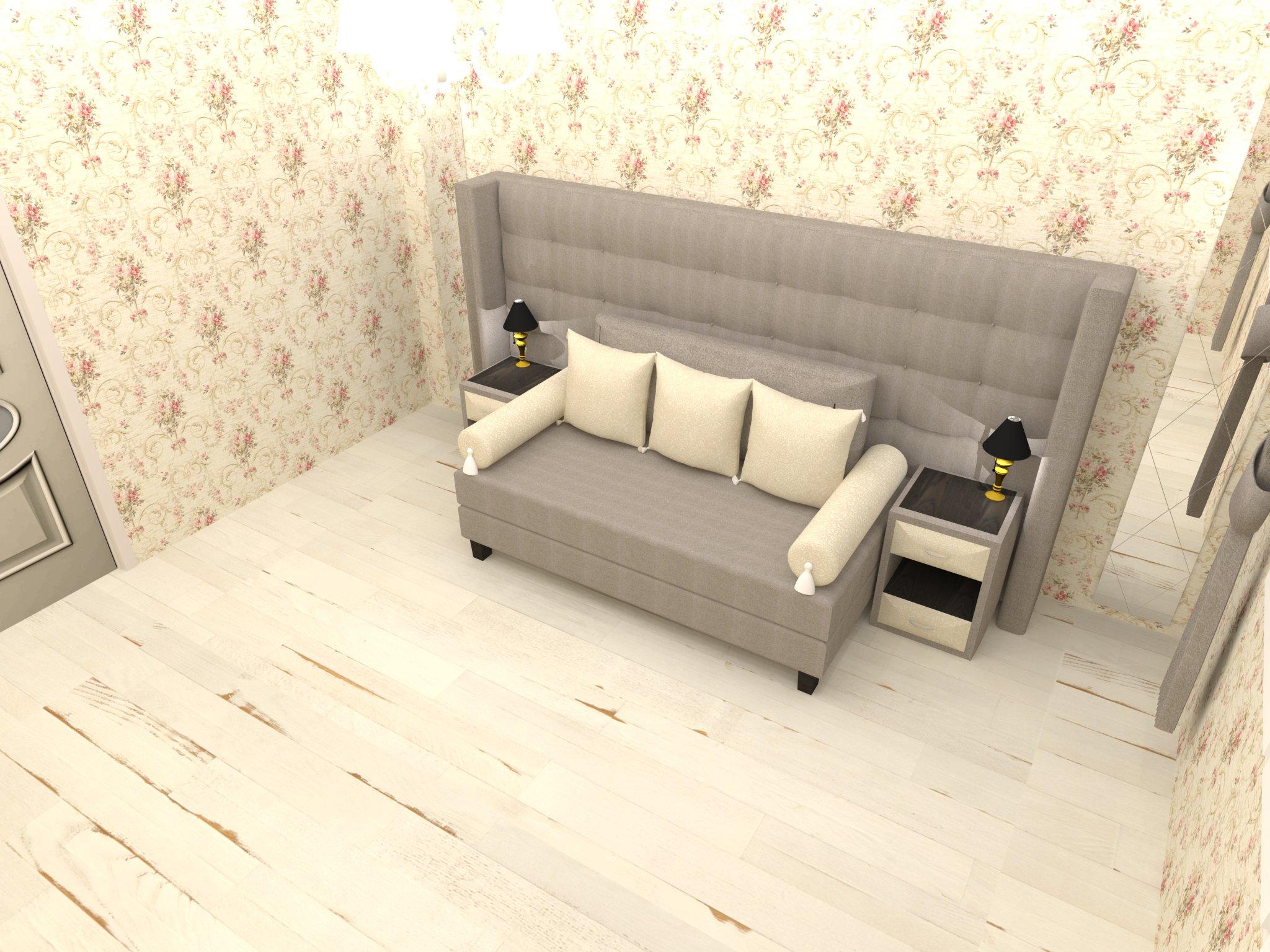 Красивый трансформер: диван в кровать