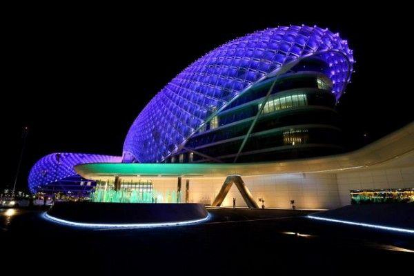 Необычная световая инсталляция от Asymptote Architecture