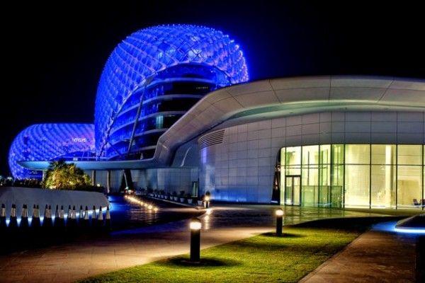 Красивая световая инсталляция от Asymptote Architecture
