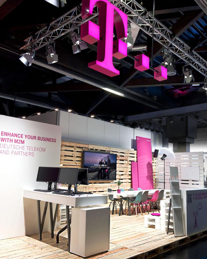 Креативный дизайн Deutsche Telekom от hartmann vonsie benthal