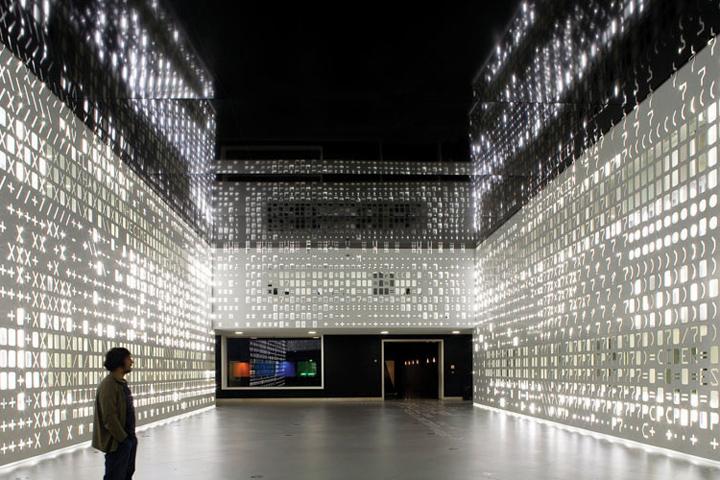 Уникальная световая инсталляция SKIN
