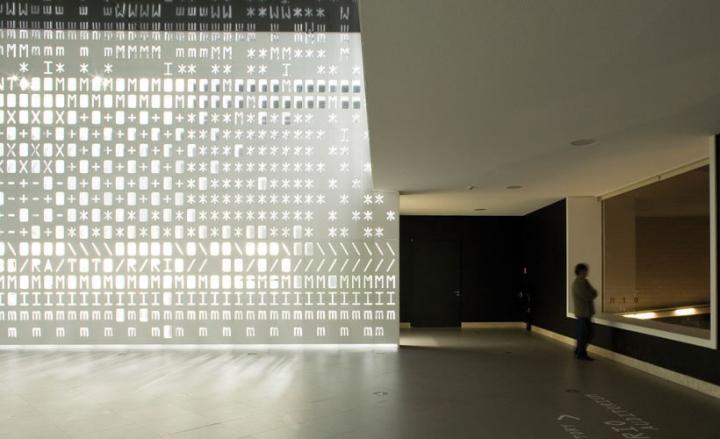 Чудесная световая инсталляция SKIN