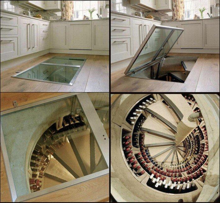 Как сделать подвал на кухне 143