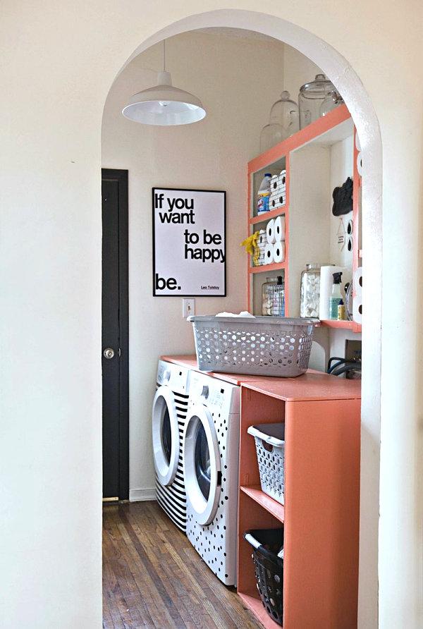 Дизайн шкафов в прачечной