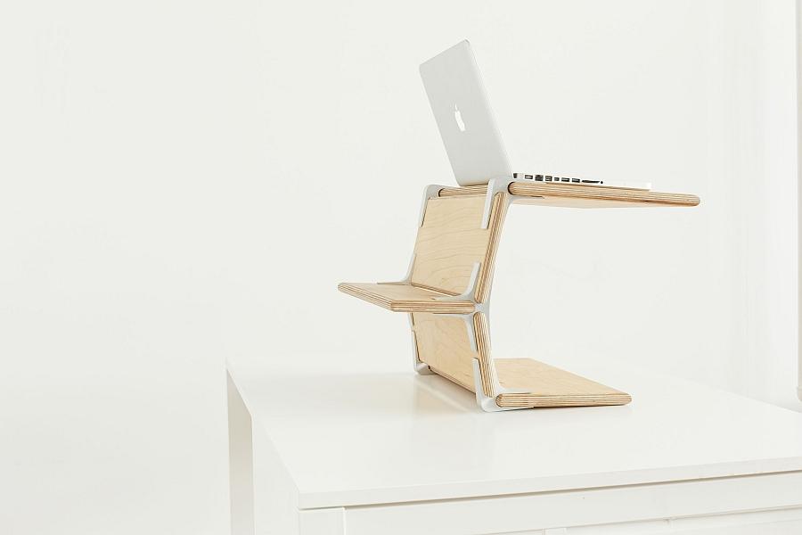 Замечательная подставка под ноутбук