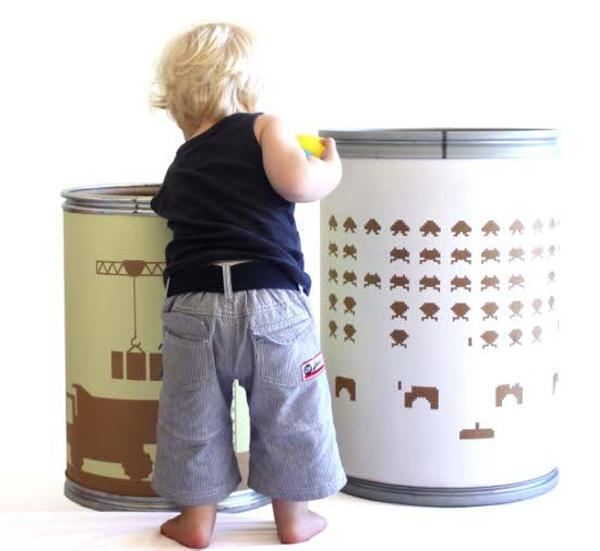 Идеи хранения игрушек в детской