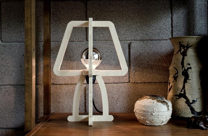 Уникальный дизайн лампы TRACE