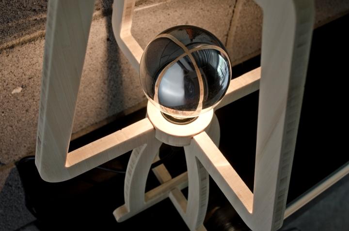 Замечательный дизайн лампы TRACE