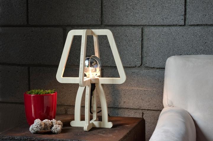 Великолепный дизайн лампы TRACE