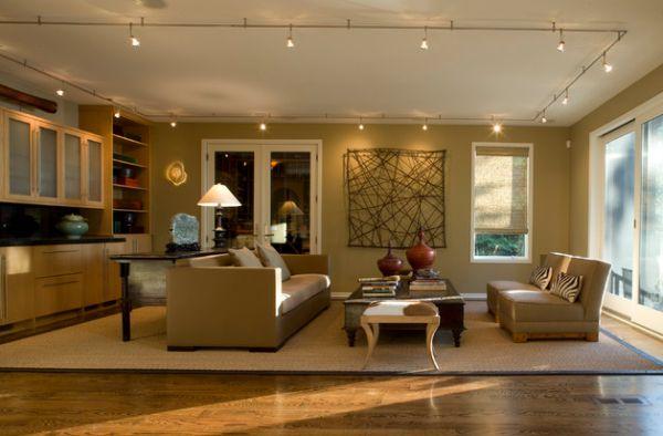 Обворожительные подвесные лампы в интерьере помещения