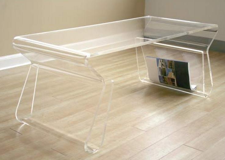 Стильный акриловый столик